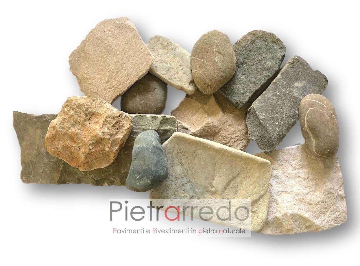 Rivestimenti-pietra-rustici-classici-credaro-sarnico-umbra-toscana-prezzo-costi-sasso-fiume-ciottoli-a-spacco