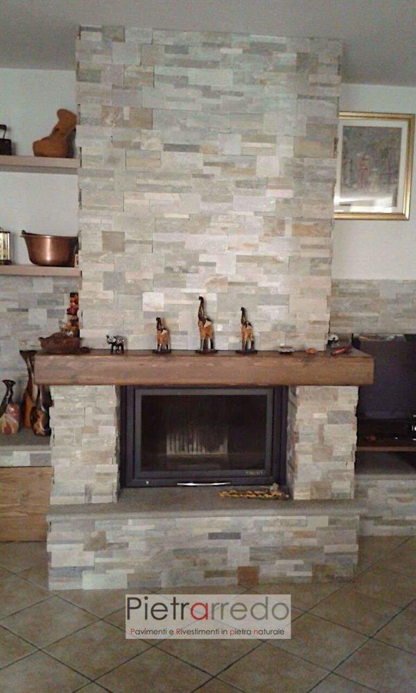 camino-pietra-rivestimento-naturale-spaccatello-costo-prezzo-quarzite-mista-stone-cladding-offerta