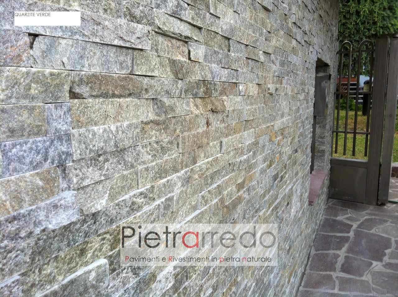 Pietra Verde Rivestimento : Rivestimento pietra quarzite verde 50% in offerta u20ac 53 mq