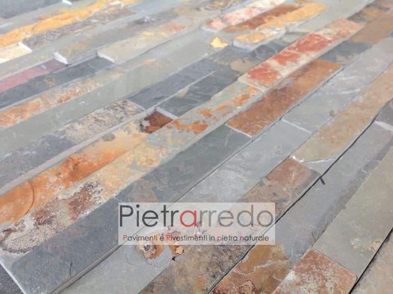 offerta-spaccatello-pèietra-rivestimento-foglia-autunno-ardesia-multicolor-pietrarredo-milano