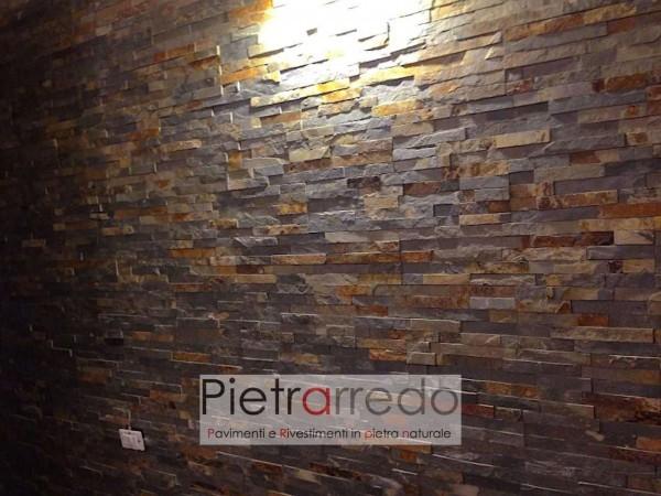 parete-muro-rivestimento-pietra-ardesia-multicolor-listelli-muretto-spaccatello