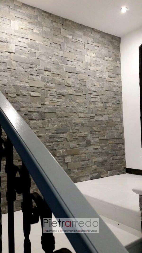 parete-scala-rivestimento-pietra-quarzite-grigia-ricostruita-naturale-stone-panel-cladding-grey-price-offerte