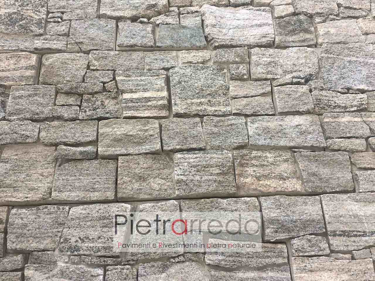 Rivestimento Pietra Beola Grigia -50% - Pietrarredo- OFFERTA €85/MQ