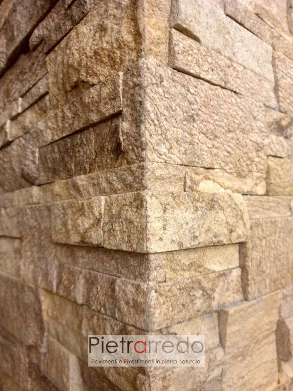 placche decorative per muri in pietra naturale arenaria scozzese pietrarredo milano costo