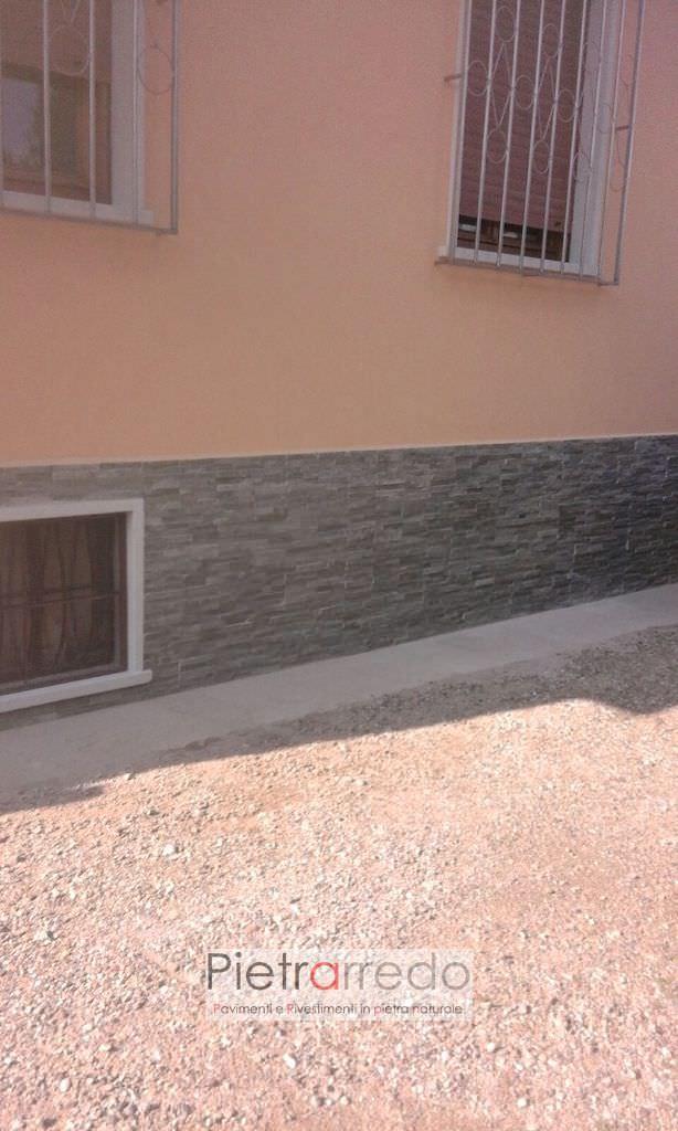 rivestimento-casa-umidità-pietra-quarzite-grigia-pietrarredo-milano-prezzo