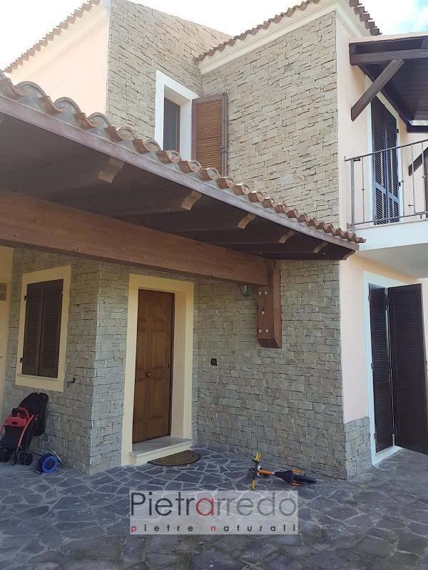 rivestimento in pietra sarda granito beige sardegna pietrarredo costi granito parete e facciata