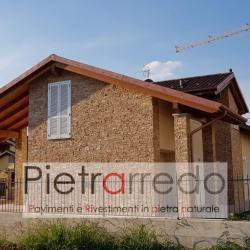 rivestimento-mattonelle-pietra-listelli-arenaria-pietrarredo-scozzese-facciata-villa-luci-faretti-offerta