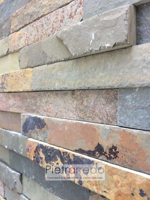 rivestimento-pietra-ardesia-multicolor-foglia-autunno-prezzo-offerta-pietrarredo-offerta-milano-spaccatello