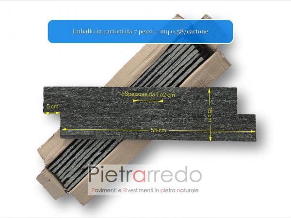 rivestimento-pietra-naturale-ricostruita-listelli-scaglia-luccicante-pareti-pietrarredo-nera-brillante-slim-listelli