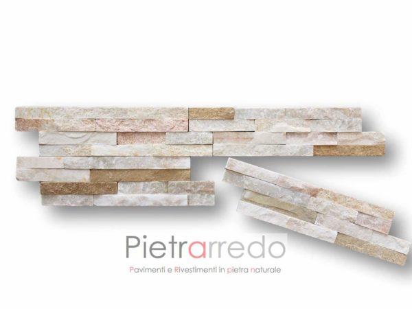 rivestimento-pietra-quarzite-mista-10x35cm-z-colore-beige-misto-prezzo-pietrarredo-milano-costo