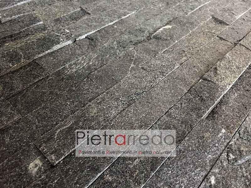rivestimento-pietra-quarzite-nera-brillante-balck-offerta-costo-pietrarredo-milano