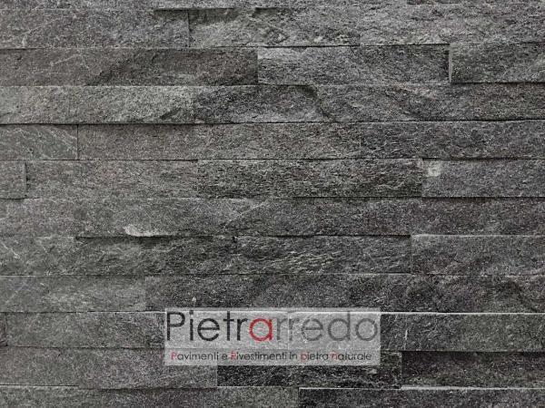 rivestimento-pietra-quarzite-nera-brillante-lavagna-pietrarredo-stone-panel-shine-black-cladding-prezzo-costi