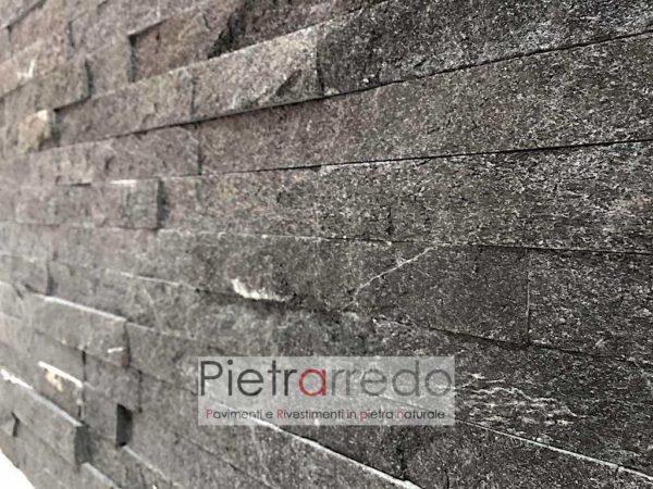 rivestimento-pietra-quarzite-nera-brillantinata-pareti-muri-facciate-soggiono-doccia