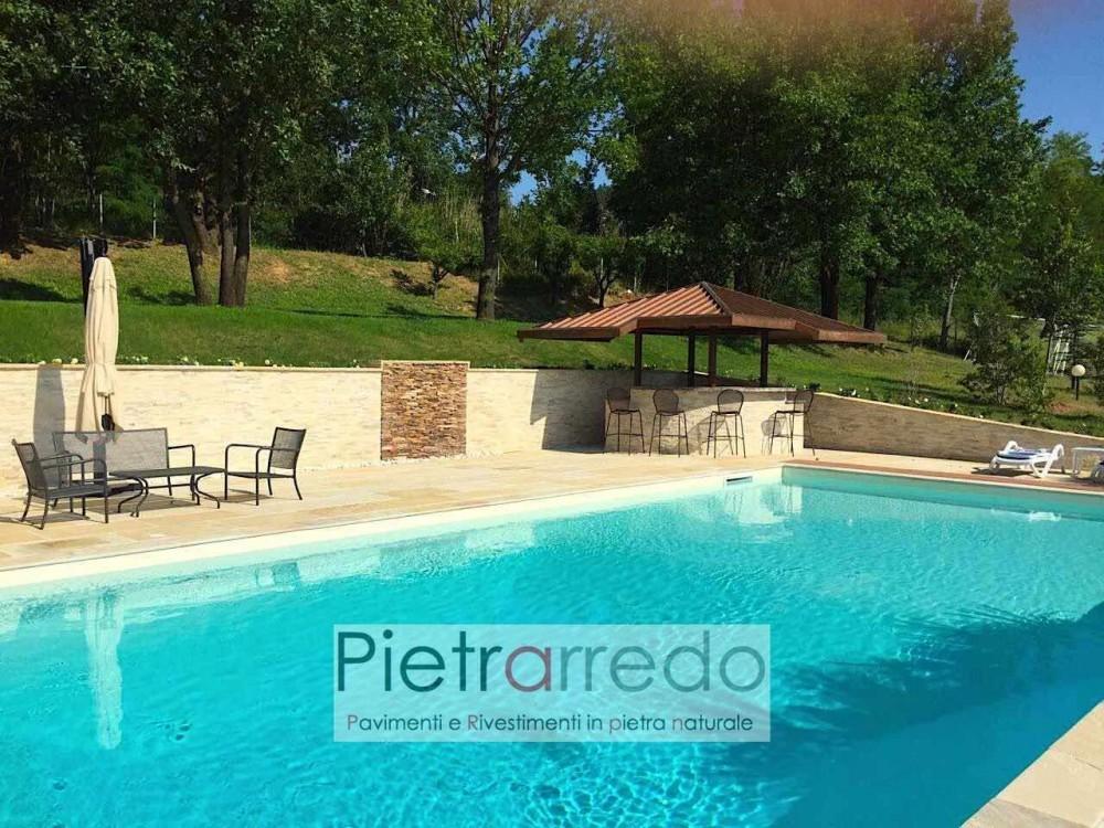 rivestimento-piscina-pietra-naturale-quarzite-gialla-prezzi-muro-offerta-costo-pietrarredo-milano