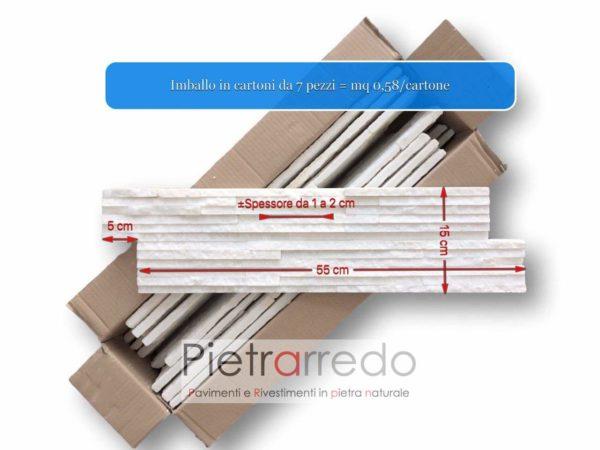 rivestimento-quarzite-bianca-slim-marble-blanco-ghiaccio-€62-metro quadro-pietrarredo-milano