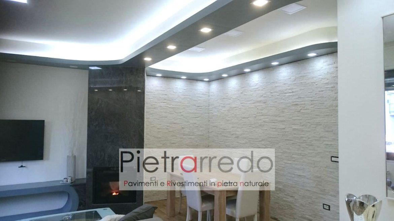 Emejing Parete In Pietra Soggiorno Contemporary - House Design ...