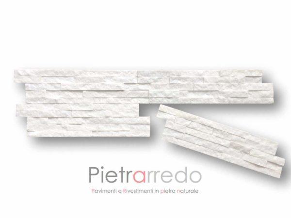 rivestimento.pietra-quarzite-bianca-15x55cm-60cm-spaccatello-listelli-muretti-prezzo-€-offerta-milano