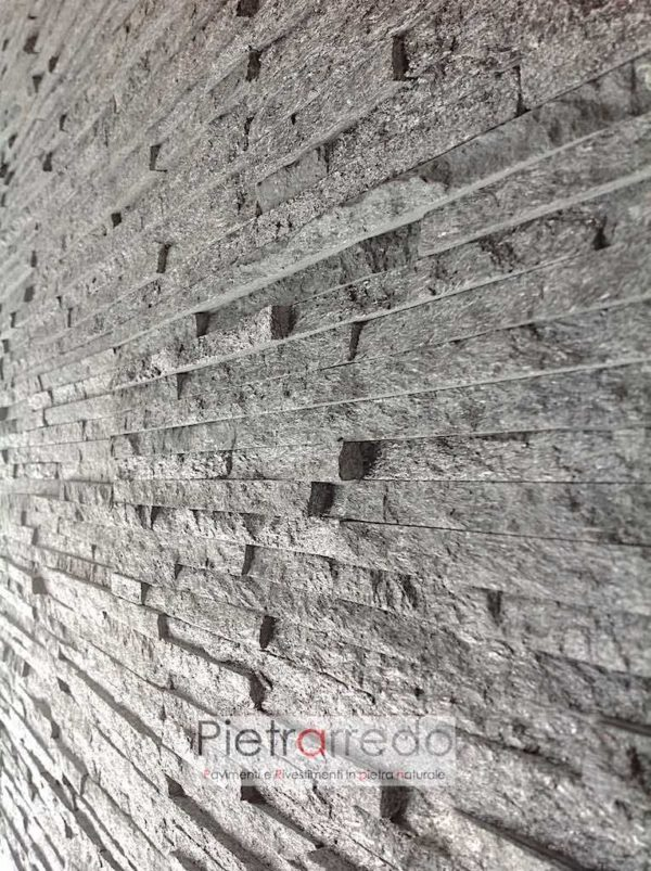 spaccatello-quarzite-nera-brillantinata-rivestimento-pietra-costo-milano-metro-offerta-muri-camini-soggiorno-facciata