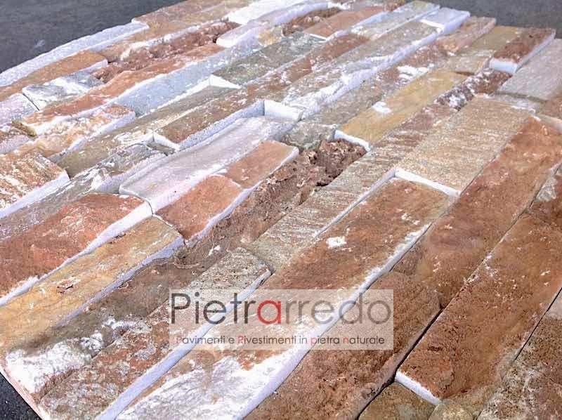 spaccatello-quarzite-rossa-muretto-rivestimento-cinta-facciata-casa