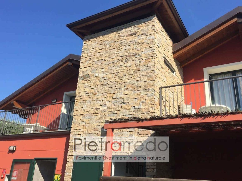Torre rampa scala rivestimento pietra naturale ricostruita for Rivestimento scale in resina prezzi