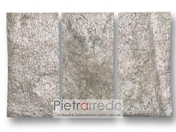 Foglio pannello flessibile pietra naturale silver impiallacciature mobili pareti slate lite radica