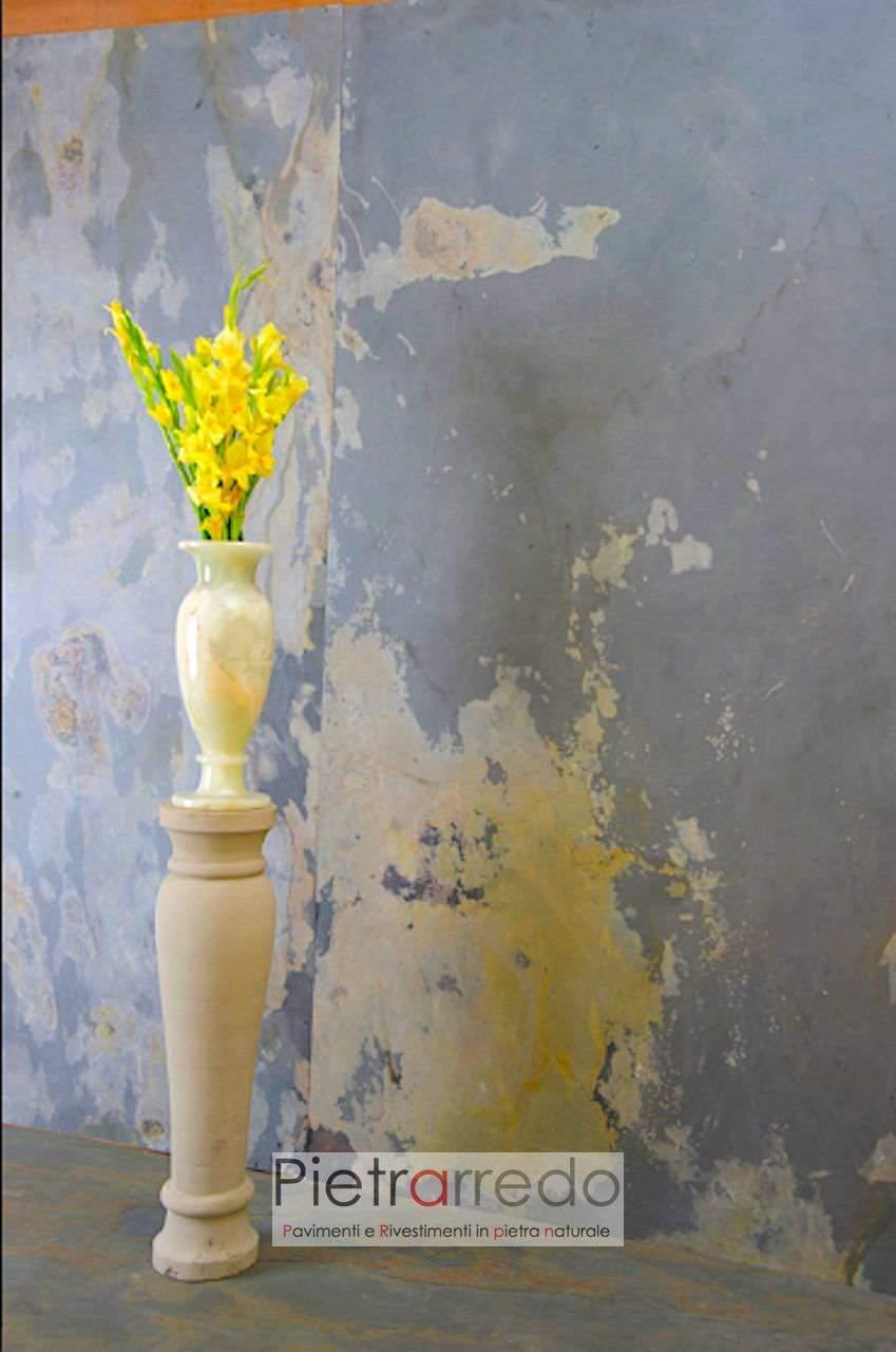 ardesia multicolore prezzo costo foglio flexstone nanonstone microstone pietrarredo milano