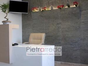 arredamento parete design pietra flessibile sottile ardesia flexstone pietarrredo milano quarzite costi