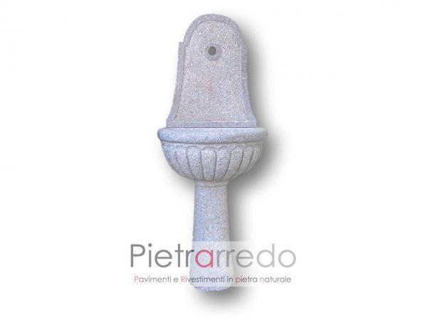 bellissimo lavandino in granito rosa sardo pietra vera in offerta da pietrarredo milano spedizioni tutta italia