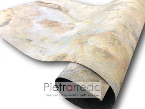 foglio flessibile extra flex stone veneer prezzo autunno autumn indian price pietrarredo
