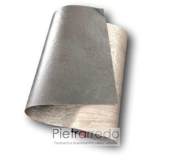 foglio radica pietra sasso sottile flessibile gold green veneer price