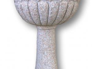 fontana granito rosa modello giada in pietra a conchiglia offerta