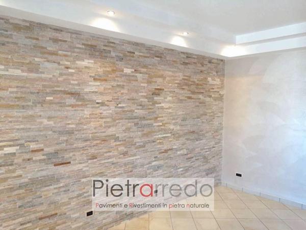 listelli in pietra quarzite mista pietrarredo milano costo offerta placche decorative scaglie sasso per facciate e muri