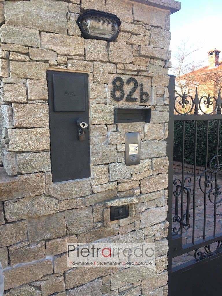 muro seccon in pietra per facciate cinte prezzi e offerte pietrarredo milano