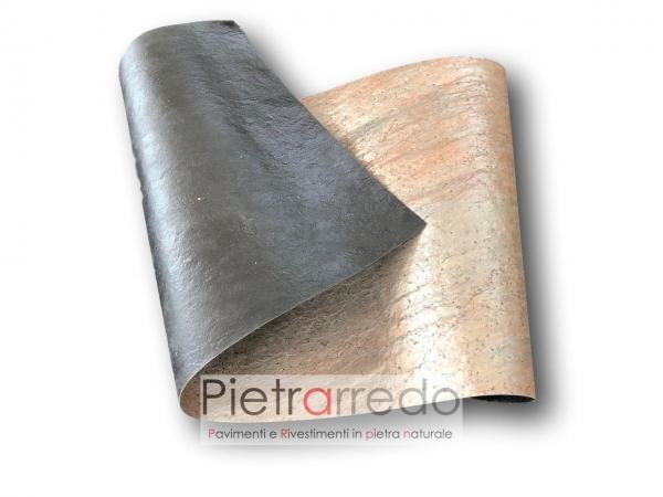 offerta fogli in pietra flex slim copper radica prezzo sale price