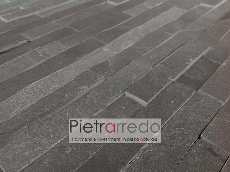 offerta-rivestimento-pietra-listelli-ardesia-nera-prezzo-antracite-placca-deco-costo