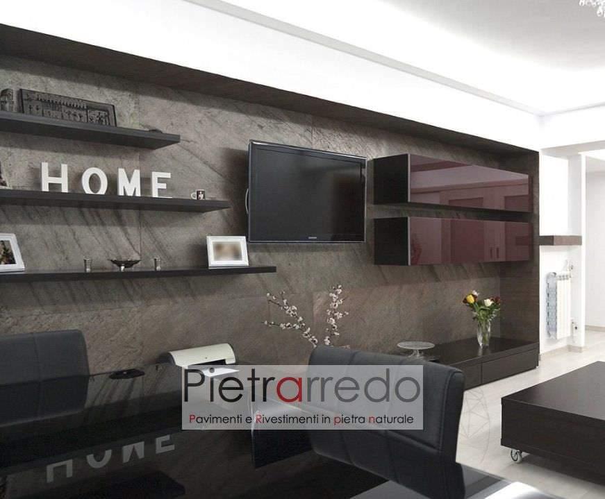 parete in ardesia sottile flessibile 2 mm pietrarredo milano costi e prezzo