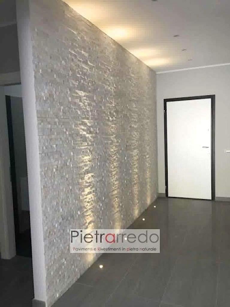 parete in pietra quarzite bianca in offerta su pietrarredo punto com