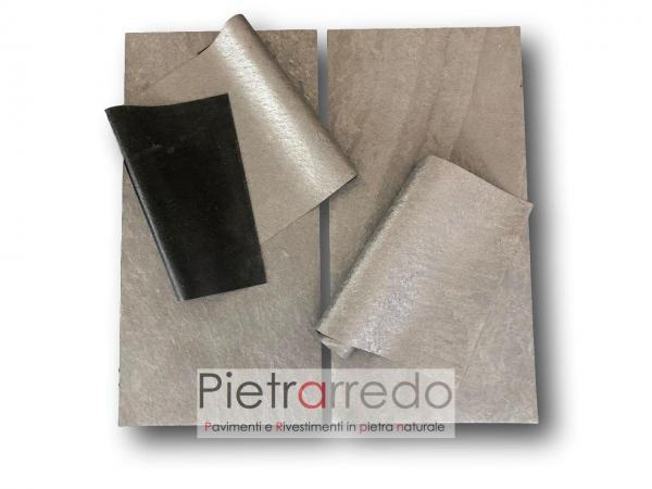 pietra flessibile black line star prezzi offerte pietrarredo milano foglio sottile