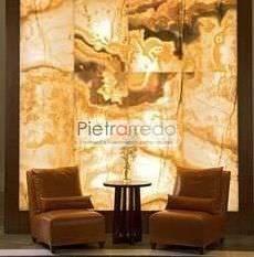 pietra trasparente retroilluminata trasparente onice flessibile foglio costi