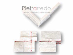 prezzo-rivestimento-angolo-pietra-quarzite-bianca-brillante-pilastri-spigoli-pietrarredo-milano