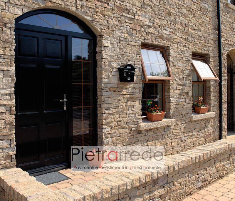 quanto costa rivestire facciata casa in pietra naturale ricostruita