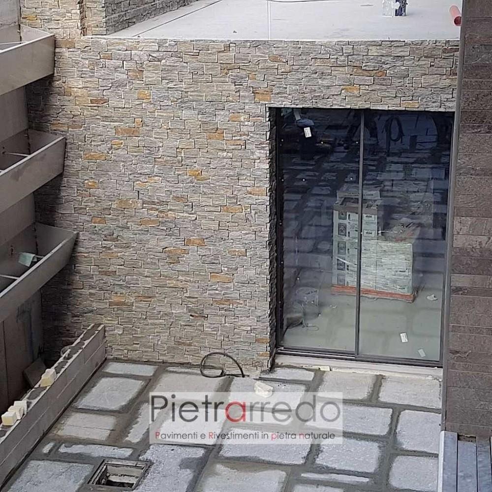 quanto costa rivestire un muro in pietra a secco in offerta luserna
