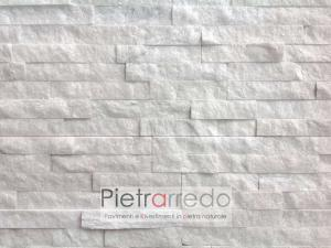 rivestimento-pietra-quarzite-bianca-offerta-prezzo-pietrarredo-milano-€43-metro quadro-white-brillantinata-lucccicante-pietrarredo