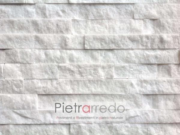 rivestimento-pietra-quarzite-bianca-prezzo-Z- offerta-milano-italia-stone-cladding-white-shine-brillantinata