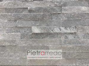 rivestimento-quarzite-grigia-listelli-spaccatelli-grigia-placca-decorativa-parete-pietrarredo-milano-prezzo-offerta-costo-€-costo