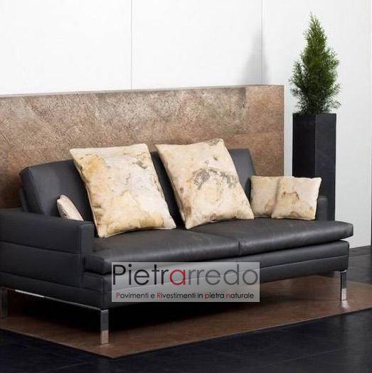soggiorno parete foglio flessibile copper flexstone costi prezzo online pietrarredo