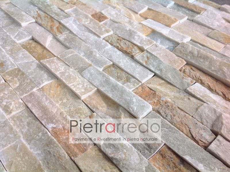 spaccatello-listelli-quarzite-mista-muretto-pietrarredo-milano-cladding-mix-offerta-stone