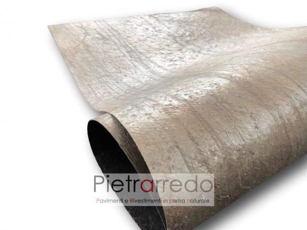 stone sheet veneer gold green sale price flessibile offerta pietrarredo