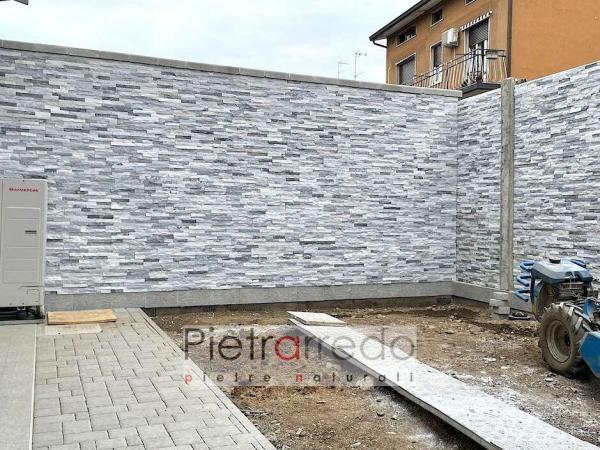 rivestimento in pietra quarzite ghiaccio pietrarredo milano stone cladding white ice prezzi price
