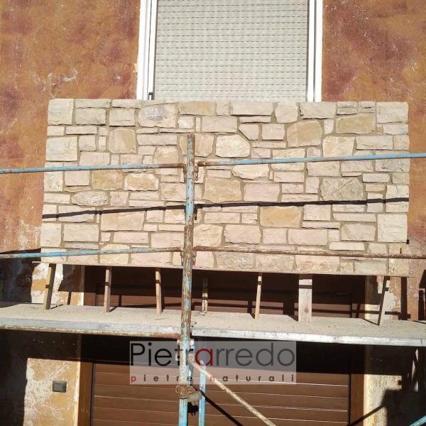 offerta pietra naturale da rivestimento credaro pietrarredo placche da incollare su muro grezzo offerte